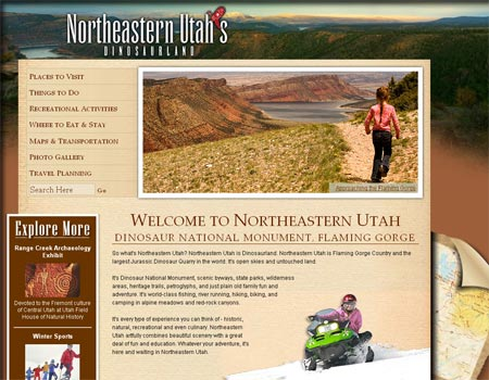 Northeastern Utah website