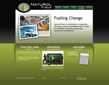 Naturol Fuels website
