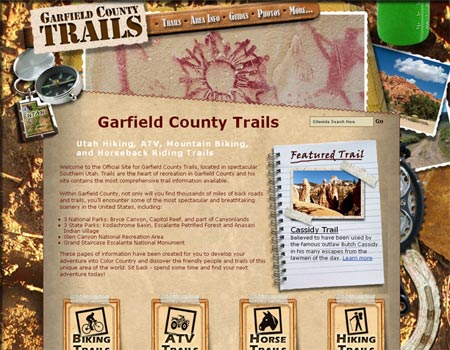 Utah Trails website