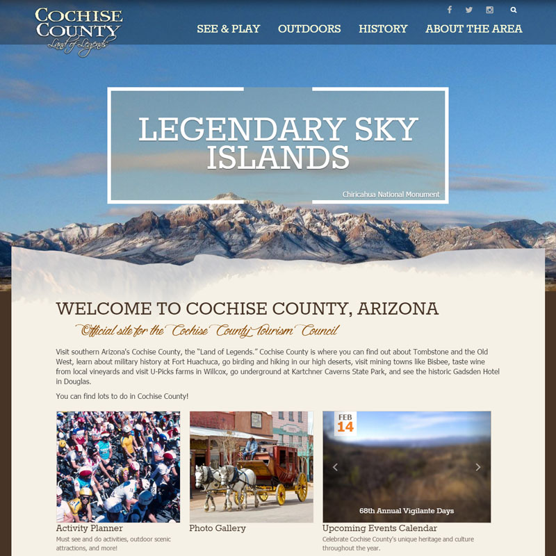 Explore Cochise County Arizona