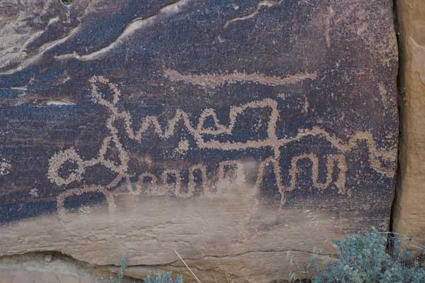 Fremont Petroglyph